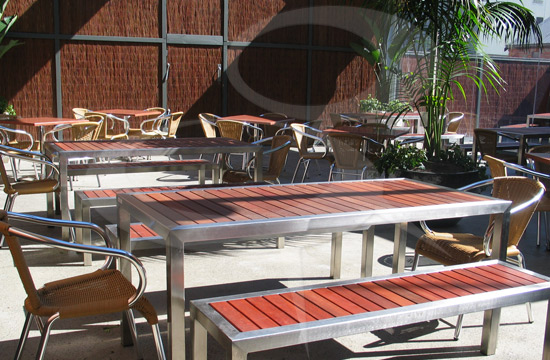 Delightful Outdoor Commercial Furniture Manufactured By Commercial Furniture By Design.