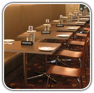 Commercial Furniture by Design Bistro seating and tables